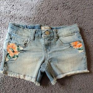 Little Girls Jean Shorts